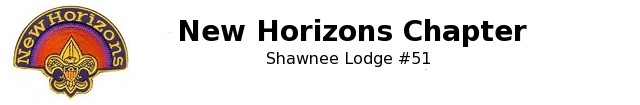 New Horizons Chapter