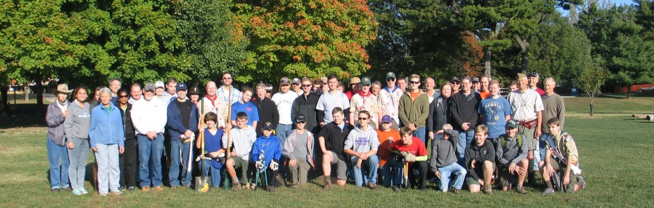 Faust Park Service Project-October 10, 2015